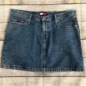 Vintage Tommy Jeans Denim Skirt Sz 9